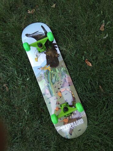 гиря 20 кг в Кыргызстан: Профессиональный трюковой скейтборд с принтом орла. Длина: 78 см