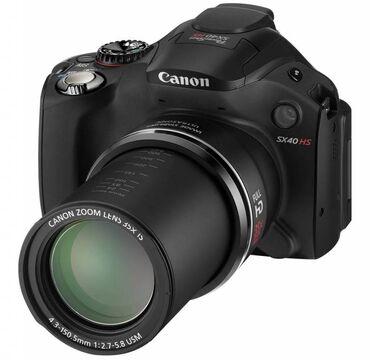 фотоаппарат canon 10d в Кыргызстан: Продаю фотоаппарат Canon Powershot SX40HS.   Б/У  В комплекте сумка дл