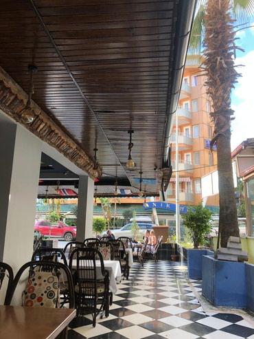 Ресторан кафе в Анталии Сиде 110кв +120 ,в в Чон-Сары-Ой