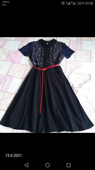 587 oglasa: Nova haljina, od pamuka sa čipkom u gornjem delu, vel M, ima elastina