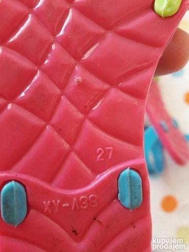 Dečije Cipele i Čizme | Uzice: Prodajem sandale za devojcice, nosene svega 2 puta, br.27