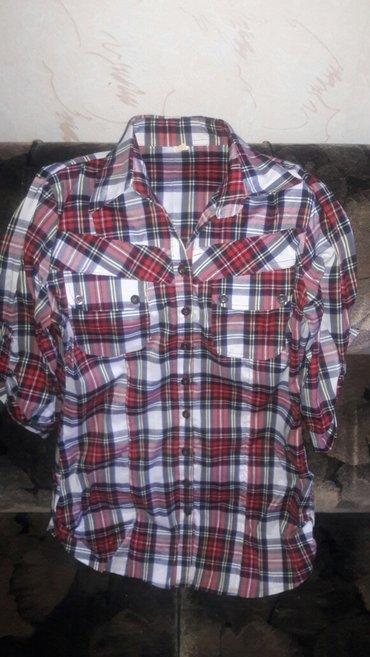Женская рубашка 44разм, кофточка серая (трикотаж)46-48 размер. в Бишкек