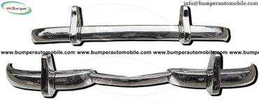 Mercedes W186 300, 300b and 300c year (1951-1957) bumper stainless in Amargadhi  - photo 4
