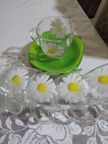 защитное стекло lenovo в Азербайджан: Çay naboru luminarkdi 15 manat 6 nəlbəki, 6 çaşka