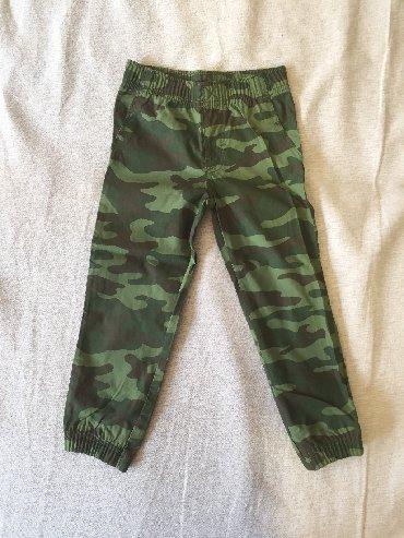 Maskirne pantalone - Srbija: Carter's maskirne pantalone vel 4