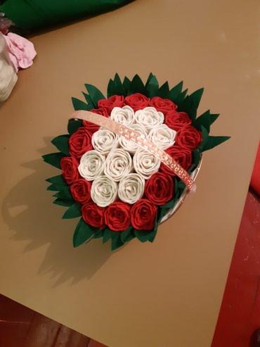 Цветы (букеты) из фетра на заказ и в в Бишкек