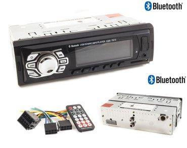 Auto oprema - Nis: Bluetooth auto radio - cdx 7613novi model blutut - lcd radio playera