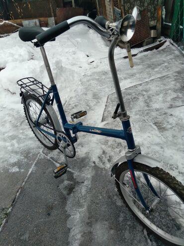 Продаю. Велосипед . Кама . Складной. Советский. Новые шины. На полном