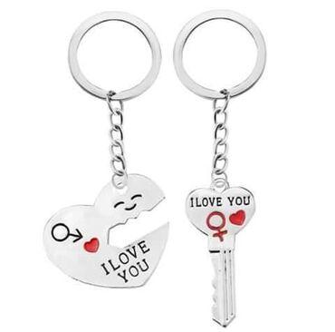 Privezak za kljuceve za parove Cena 540din