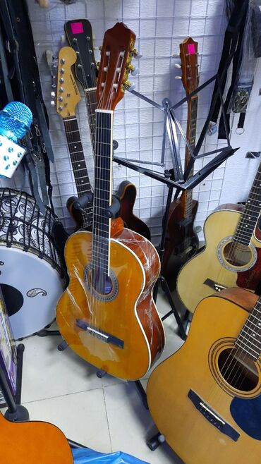 gitara klassik - Azərbaycan: Gitara klassik agac materialli
