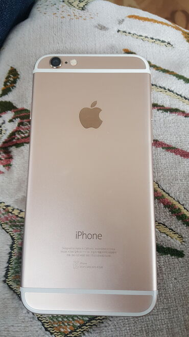 смартфон meizu m5s 16 gb gold в Кыргызстан: Б/У iPhone 6s 16 ГБ Розовое золото (Rose Gold)