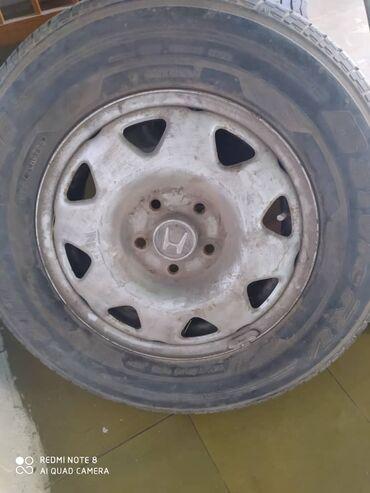 Продаю диски Honda CRV. Шины в подарок 215/70 R15 (летние). В отличном