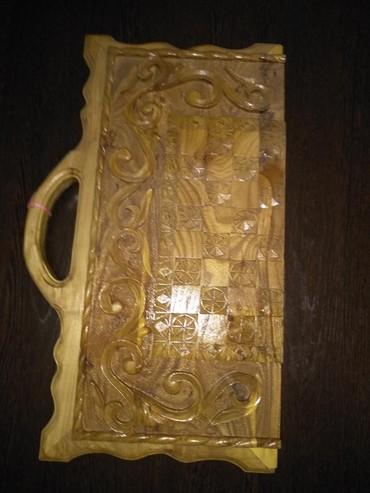 Другие предметы коллекционирования в Лебединовка: Нарды резные деревянные, новые