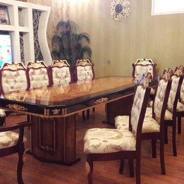 Bakı şəhərində Hazır filiz stol stul 12 nəfərlik birbaşa anbardan satışı