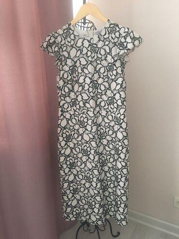Продаю летнее стильное платье футляр французской длины, чуть ниже коле