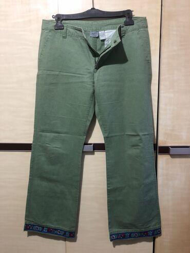 Pamucne prijatne pantalone velike