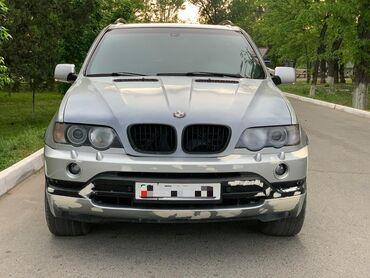 BMW - Автоматическая - Бишкек: BMW X5 4.4 л. 2002