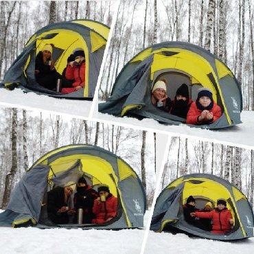 İdman və istirahət Ceyranbatanda: Kamp çadırı. Səyahətdə yanınızda daşıya biləcək və sevdiklərinizlə