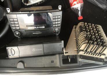 bmw 6 серия 630cs mt - Azərbaycan: Mercedes W203 усилитель магнитофон сд чейнджер на 6 дисков оригинал