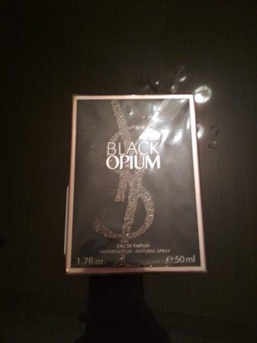 """Bakı şəhərində """"black opium"""" ətri. 50 ml. Təzədir. Qiyməti 12 azn"""
