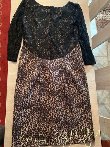 гипюр платье в Кыргызстан: Продаю платье в отличном состоянии носилось только 2 раза 42-44 размер
