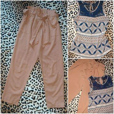 Set S/M🥰 pantalone 7/8 i majica Colloseum S, vrhunski kvalitet. Cena