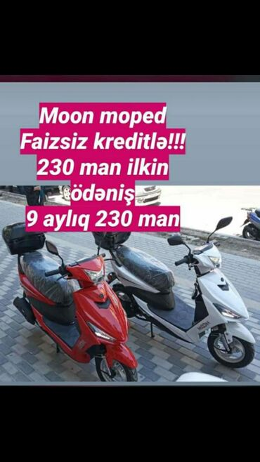 Digər motosiklet və mopedlər - Azərbaycan: KREDİT VERİLİR✔Baki ve Bezi Rayonlara Yalniz sexsiyyet vesiqesi ve 2