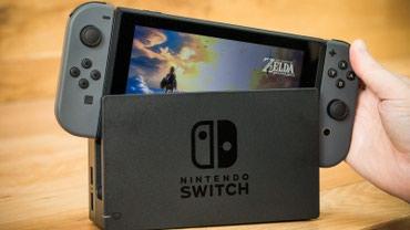 Nintendo Wii в Кыргызстан: Продаю ПРОШИТЫЙ нинтендо свитч, nintendo switch прошитый!в комплекте