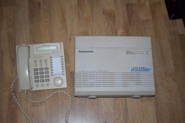 Τηλεφωνικό κέντρο PanasonicTD612 με συσκευή σε Chalandri