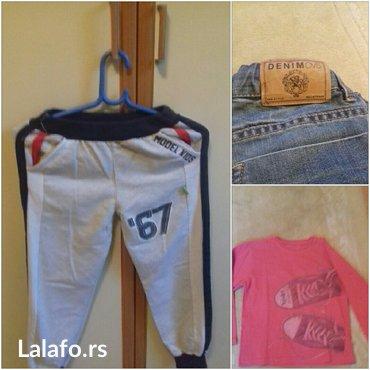 Farmerke-y - Srbija: Paket- trenerka donji deo, majica dugih rukava i farmerke ovs