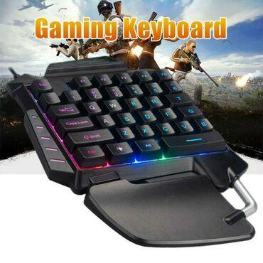 G92 Simli oyun klaviaturası, RGB arxa işığı 35 açar Erqonomik sərin qa