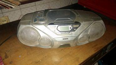 Магнитофон,работает радио и в Bakı