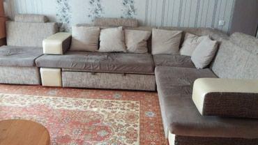 Продаю угловой диван,размер: 3.10 на 2.20. в Бишкек