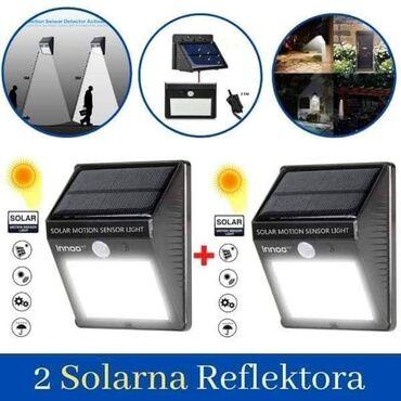 Samo 1900 dinara.2 Solarna Led ReflektoraUgradjene LED diode pruzaju