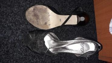 Prodajem cipele,nosene jednom,ali sa vidljivim ostecenjima gde je - Belgrade