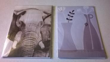 2 σετ κάρτες IKEA στη συσκευασία τους  Καινούργιες