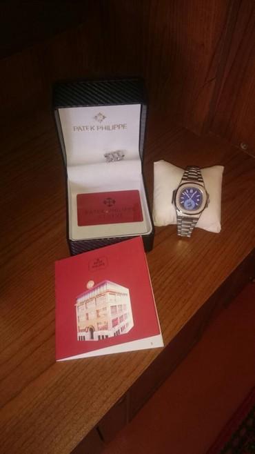 Qol saatları - Dübəndi: Patek Plippe saati satilir. keffiyyetli saatdi. korps paslanmayan