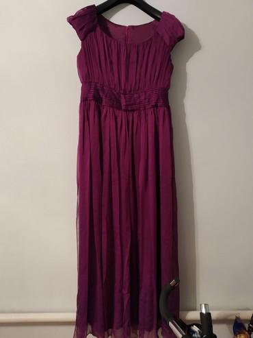 фиолетовое платье в пол в Кыргызстан: Платье в пол сшито на заказ 46- 48- 50 р