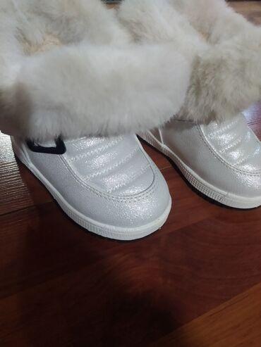 детский сумкалар в Кыргызстан: Сапожки детские, состояние нового, размер 25, на 3-4 годика