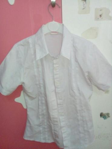 детская джинсовая рубашка в Азербайджан: Рубашка на девочку на 10-11 лет