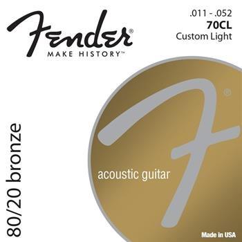 FENDER akustik gitara uchun 1 dest sim Model: 880 cl