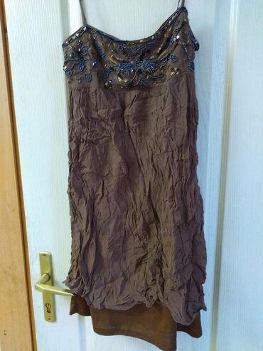Braon - Srbija: ZARA,,,, haljina. 800din