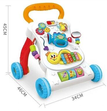 Игрушки - Лебединовка: Ходунки-каталка BabyGo помогут малышу сделать первые шаги, а игровой
