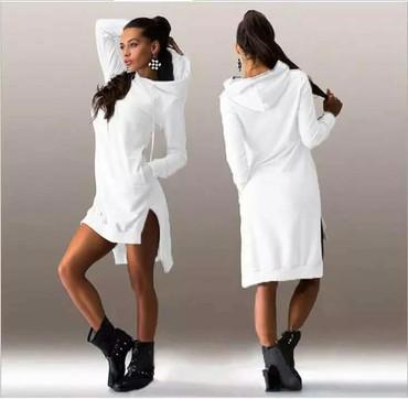 Dukserica haljina uni veličine za cene pitaj te - Subotica