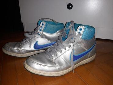 Nike patike, nosene dosta ali su u dobrom stanju. Nemaju nikakvo - Belgrade