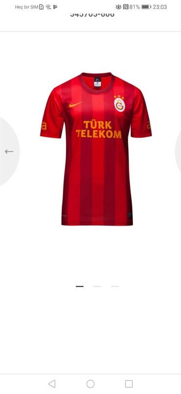 Galatasaray - Azərbaycan: Tam original Türkiyə istehsalı rəsmi ürün Galatasaray forması. L və M