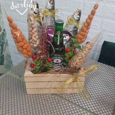 Услуги - Кировское: На заказ пивные букеты подарок для мужчины