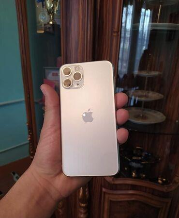 нцт 2019 ответы в Кыргызстан: Б/У IPhone 11 Pro 256 ГБ Белый