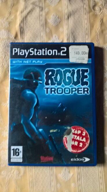 PS2 & PS1 (Sony PlayStation 2 & 1) | Srbija: ROGUE TROOPER=playStation 2=ispravne su testirane juce stigle iz beca
