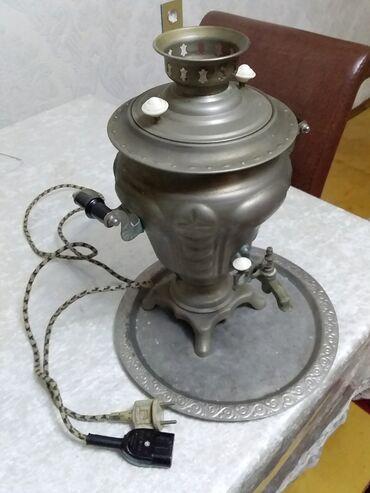 Samavar tap az - Azərbaycan: Samavar tok ideal vəziyyətdə heç bir problemi yoxdur üç litr yarım su